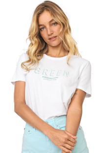 Blusa Calvin Klein Jeans New Year Colors Branca