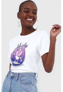 Camiseta Hurley Surfer Rabbit Branca - Kanui