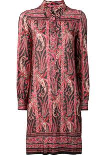 Isabel Marant Camisa Com Padronagem Paisley - Vermelho