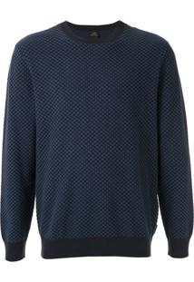 Armani Exchange Pullover Regular Fit - Azul