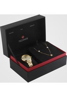 Relógio Technos 2015Ccl/K4X Dourado - Kanui