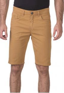 Bermuda Docthos Jeans Mostarda