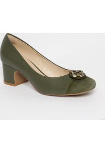 2973db8e22 ... Sapato Tradicional Em Couro Com Recortes   Aviamento - Vcapodarte
