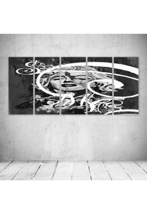 Quadro Decorativo - Merylin Monroe - Composto De 5 Quadros - Multicolorido - Dafiti