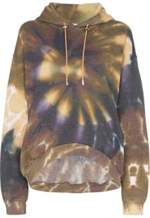 Collina Strada Blusa De Moletom Tie Dye Oversized - Multicoloured