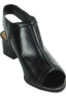 Sandália Boot Salto Médio Lelive - Feminino