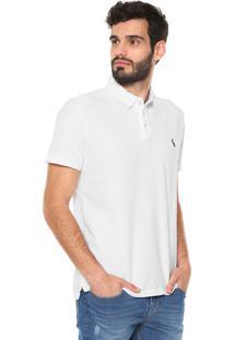... Camisa Polo Reserva Reta Flame Branca 918e3326cdbfa