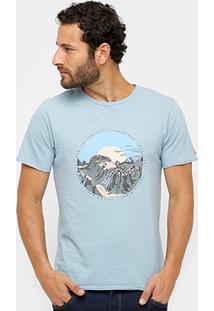 Camiseta Timberland Footprint Masculina - Masculino