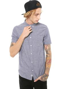Camisa Element Reta Greene Neps Azul