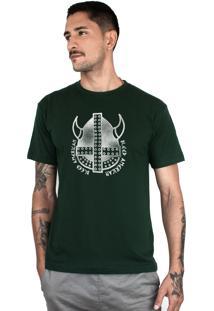 Camiseta Bleed American Vickings Musgo