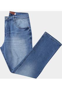 Calça Jeans Biotipo Plus Size Slim Fit Masculina - Masculino