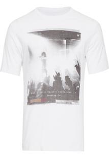 Camiseta Masculina Concert - Branco