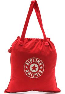 Bolsa Kipling Tote New Hiphurray New Clas Vermelha