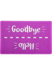 Capacho Hello Goodbye Rosa 0,40X0,60M Beek