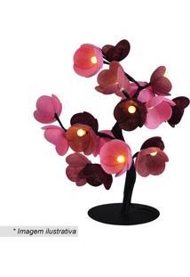 Luminária Árvore Luz De Fada Bruxelas- Rosa & Vermelha