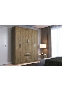 Guarda Roupa 6 Portas Decibal Rp3630 Wood Guarda-Roupa 6 Portas Decibal Rp3630 Wood