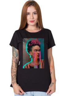 Camiseta Stoned Frida Kahlo Feminina - Feminino