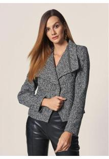 Jaqueta Perfecto Fechamento Assimétrico - Feminina - Feminino