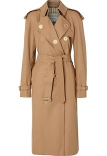 Burberry Trench Coat Clássico - Marrom