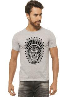 Camiseta Joss - Caveira Indio - Masculina - Masculino