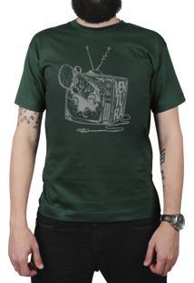 Camiseta Ventura Damage Verde