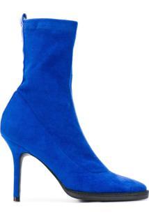 Haider Ackermann Bota Salto Alto - Azul
