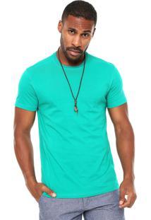 Camiseta Hering Reta Verde