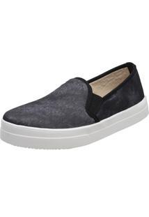 Slippers Estampa Jeans Stefanello Tor01 Preto