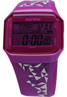 Relógio Mormaii Feminino - M0945/8Q M0945/8Q - Feminino-Roxo