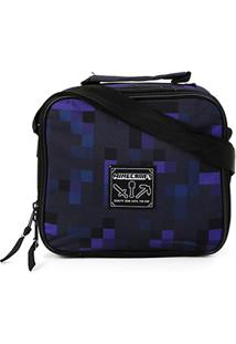 Bolsa Térmica Dmw Minecraft Cooler - Masculino-Preto