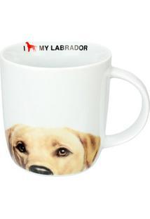 Caneca De Cerâmica I Love My Labrador 340 Ml 18178