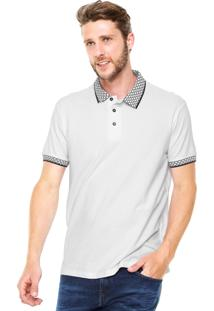 Camisa Polo Colcci Comfort Laranja