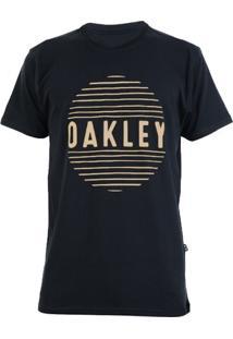 Camiseta Oakley Croocked Lines Masculino - Masculino