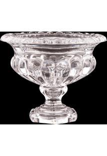 Vaso Decorativo De Cristal Danúbio I