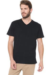 Camiseta Reserva Gola V Preta