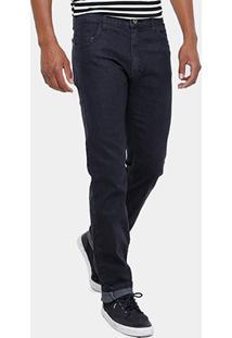 Calça Jeans Skinny Rock Blue Black Masculina - Masculino