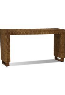 Aparador Manaus Junco Envelhecido Estrutura Madeira Eco Friendly Design Scaburi