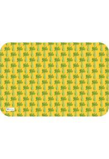 Tapete De Cozinha Mdecore Legume Amarelo 40X60Cm