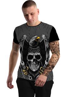 Camiseta Stompy Tattoo Rock Collection 27 Preta