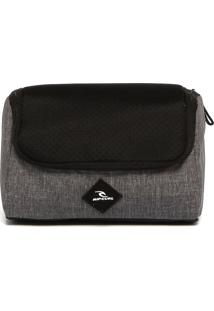 Nécessaire Rip Curl F-Light Toiletry Hydro Preto/Cinza