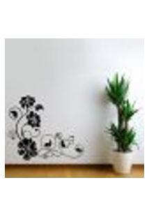 Adesivo De Parede Floral 18 - G 80X95Cm