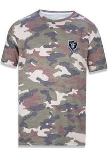 Camiseta Oakland Raiders Militar - New Era - Masculino