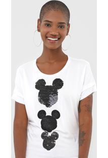 Blusa Cativa Disney Mickey Off-White