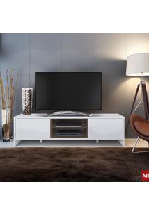 Rack Madesa Sydney Para Tv Até 50 Pol 3 Portas Branco E Rustic