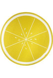 Jogo Americano Redondo Frutas Limão 38Cm