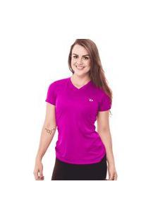 Camiseta Feminina Dry Roxo