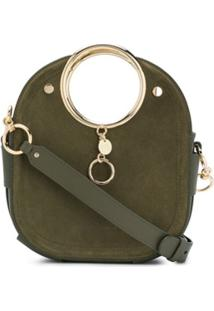 See By Chloé Round Handle Bag - Verde