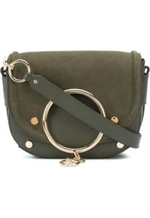 See By Chloé Mara Leather Crossbody Bag - Verde