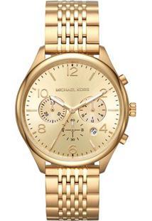 Relógio Analógico Mk8638-1Dn- Dourado- Michael Korsmichael Kors
