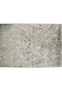 Tapete Belga Geometric Desenho 02 0.67X1.05 - Edantex - Cinza